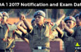 NDA 1 2017 Notification and Exam Date