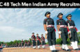 SSC 48 Tech Men Indian Army Recruitment