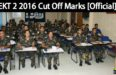 EKT 2 2016 Cut Off Marks [Official]