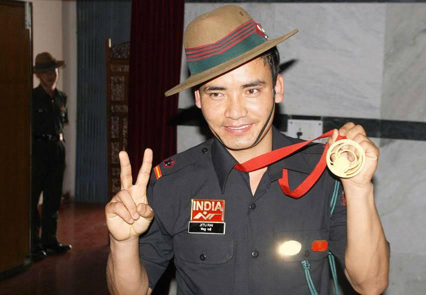 Subedar Jitu Rai armed force cwg