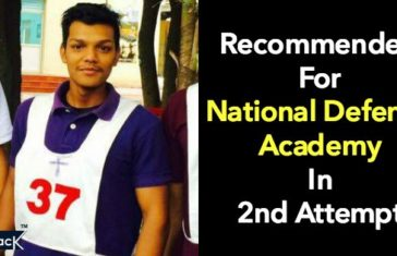 Recommended For National Defence Academy In 2nd Attempt