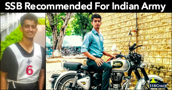 SSB Recommended For Indian Army