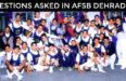 afsb-dehradun-questions