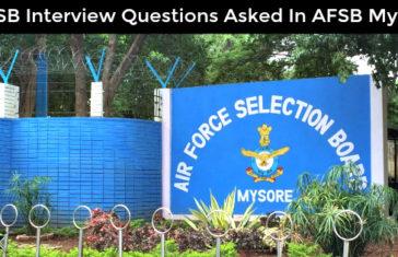 afsb-mysore-questions