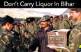Don't Carry Liquor In Bihar, Indian Army Warns Soldiers