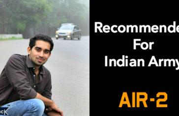 SSB Recommended OTA Chennai