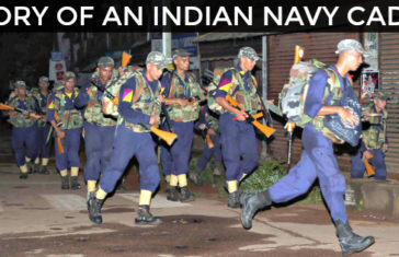 STORY OF AN INDIAN NAVY CADET