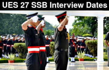 UES 27 SSB Interview Dates