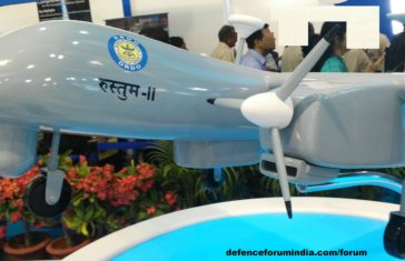 All About Rustom UAV