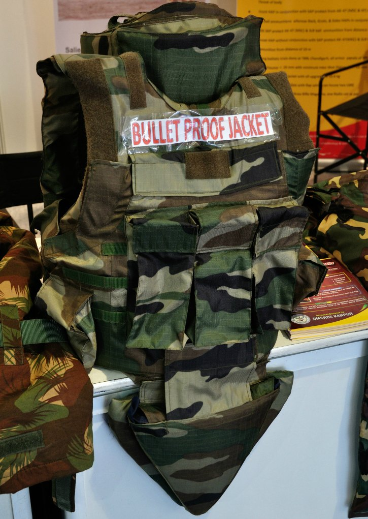 bullet-proof jackets