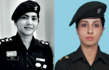 indian army women officer