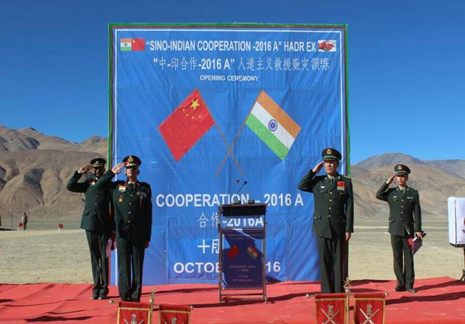 Sino-Indian Cooperation 2016