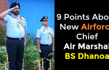 BS Dhanoa The New Air Force Chief