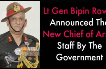 13 Points About Lt Gen Bipin Rawat, The New Army Chief Designate