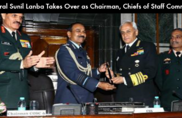 Sunil Lanba Takes Over as Chairman of Chiefs of Staff Committee (COSC)