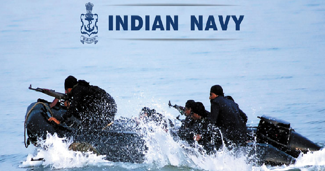 Indian Navy in Action