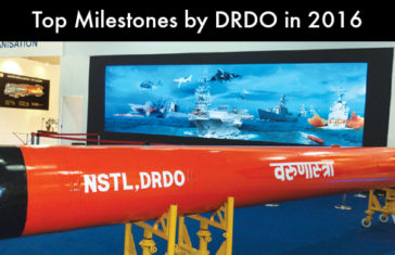 Top Milestones by DRDO 2016