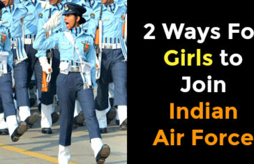 2 Ways For Girls to Join Indian Air Force