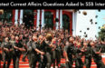 20 Latest Current Affairs Questions Asked In SSB Interview