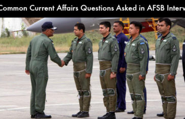 30 Common Current Affairs Questions Asked in AFSB Interview