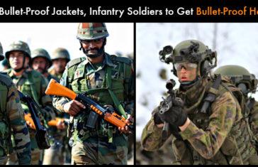 Bullet-proof helmets featured