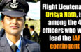 Flight Lieutenant Drisya Nath