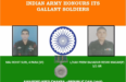 List of Army Soldiers Who Were Awarded Gallantry Awards in 2017