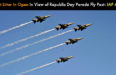 Do Not Litter In Open In View of Republic Day Parade Fly Past: IAF Appeal