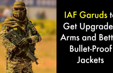 IAF Garuds to Get Upgraded Arms and Better Bullet-Proof Jackets