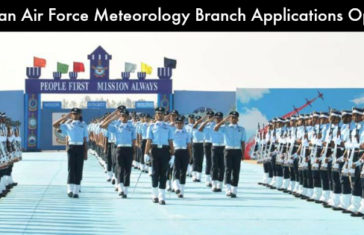 Indian Air Force Meteorology Branch Application Open. Apply Now!