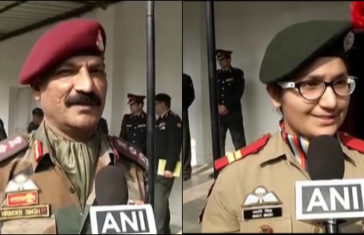 Indian Army First Father-Daughter Duo