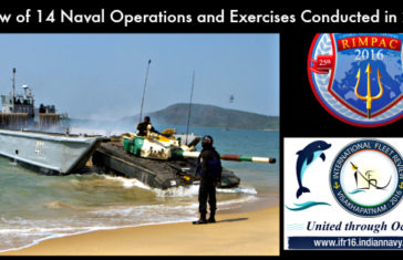 Indian Navy 2016: Review of 14 Operations and Exercises Conducted