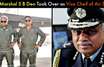 Air Marshal S B Deo Took Over As Vice Chief of Air Staff