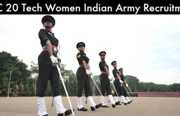 SSC 20 Tech Women Indian Army Recruitment