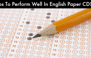 Tips To Perform Well In English Paper in CDSE