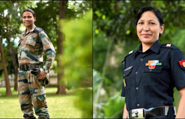indian army officer women