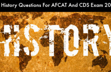 50 History Questions For AFCAT and CDS Exam 2017