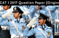 AFCAT 1 2017 Question Paper [Original] [UPDATED] [All Sets]