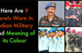 Here Are 9 Berets Worn In Indian Military And What Their Colour Means