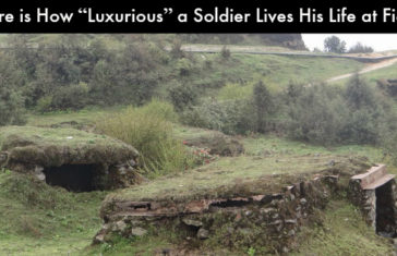 """Here is How """"Luxurious"""" a Soldier Lives His Life at Field"""