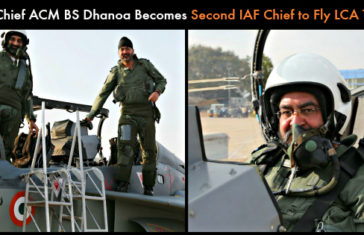IAF Chief ACM BS Dhanoa Becomes Second IAF Chief to Fly LCA Tejas