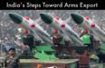 India's Steps Toward Arms Export