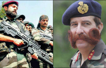 Indian Armed Forces Beard