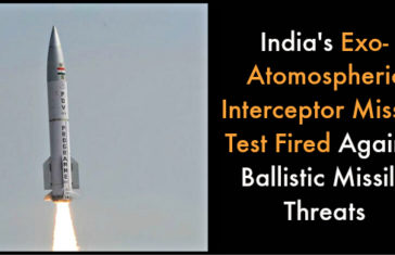India's Exo-Atomospheric Interceptor Missile Test Fired Against Ballistic Missile Threats