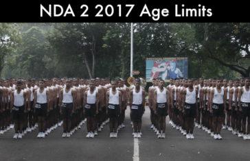 NDA 2 2017 Age Limits
