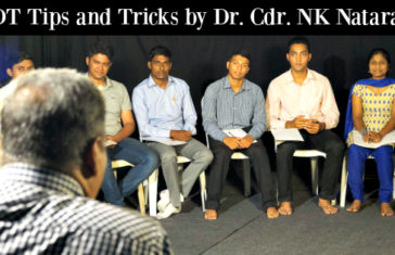 PPDT Tips and Tricks by Dr. Cdr. NK Natarajan