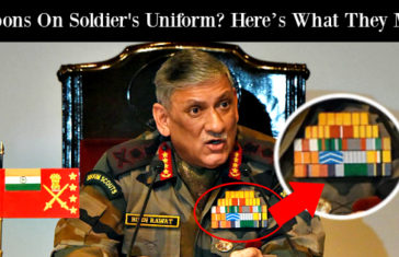 Ribbons On Soldier's Uniform Here's What They Mean