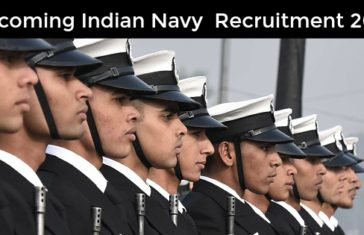 Upcoming Indian Navy Recruitment 2017