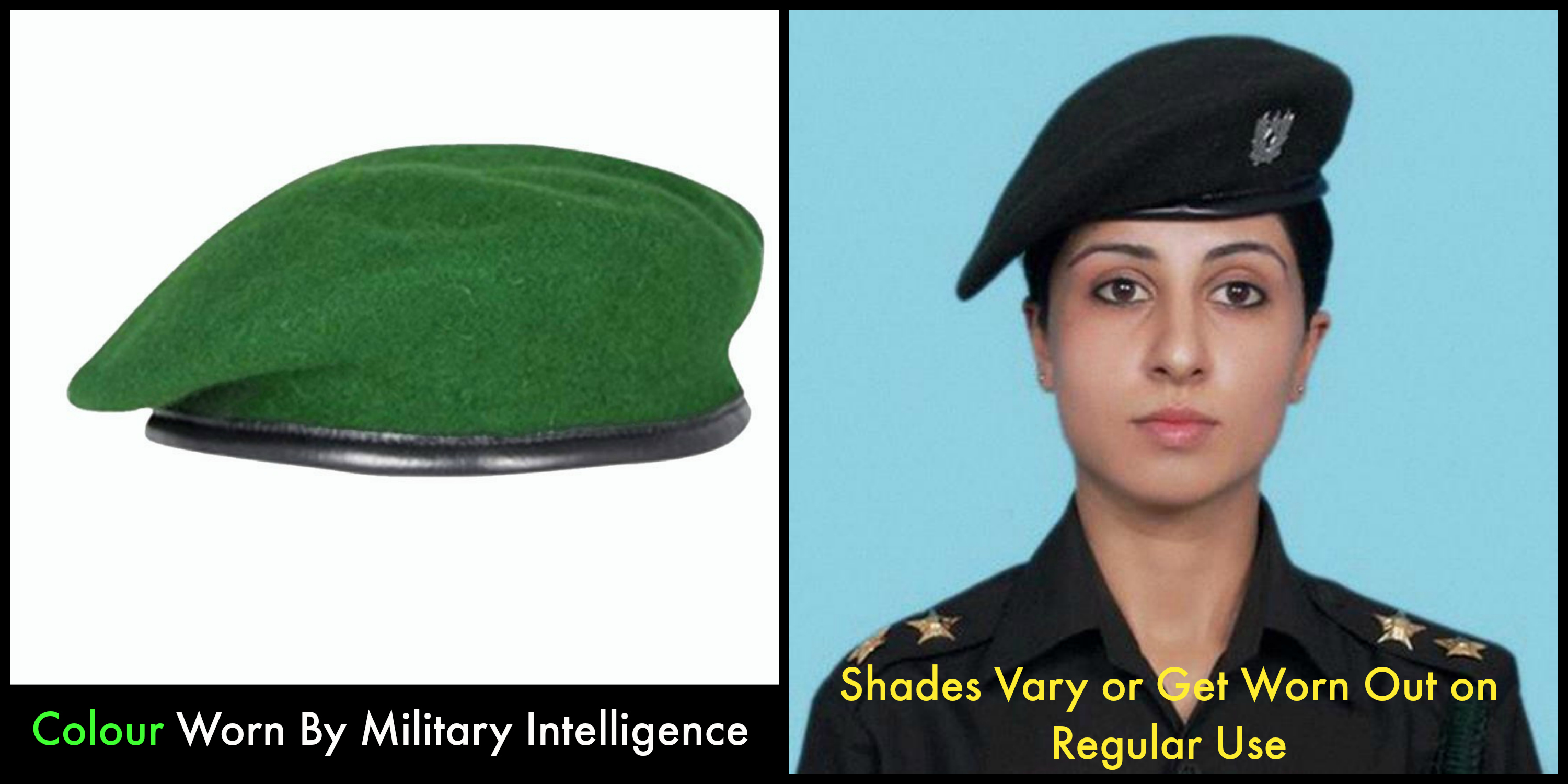 b998541b60a1b4 Here Are 9 Berets Worn In Indian Military And What Their Colour Means
