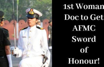 woman Sword of Honour!